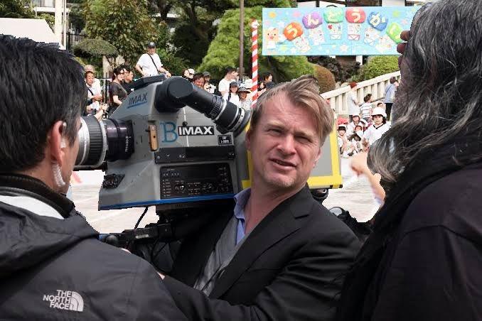 子供の運動会にIMAXカメラを持参するノーラン監督
