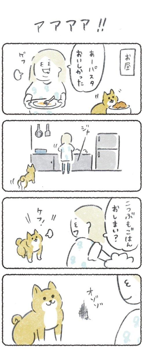 犬の横でG殺したら恐怖した話(1/2) #豆しばこつぶ