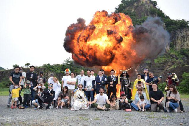 外国人向けに爆破体験 栃木 観光商品化へ実証実験 -