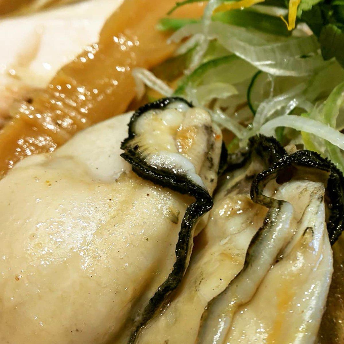 牡蛎ラーメン #Tonari