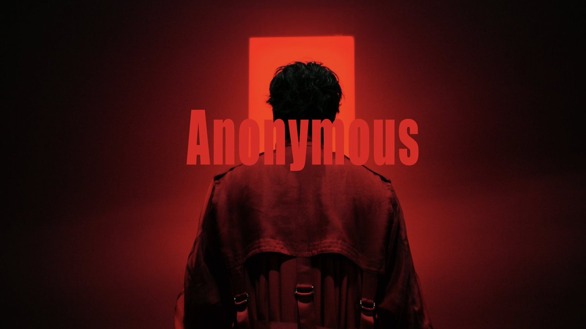 #Anonymous #アノニマス 配信リリース開始   Music Video 2/1 23:00 公開 #香取慎吾 #WONK  #Anonymous out now with @WONK_TOKYO  Music video premier tonight 11:00pm JST #SHINGOKATORI