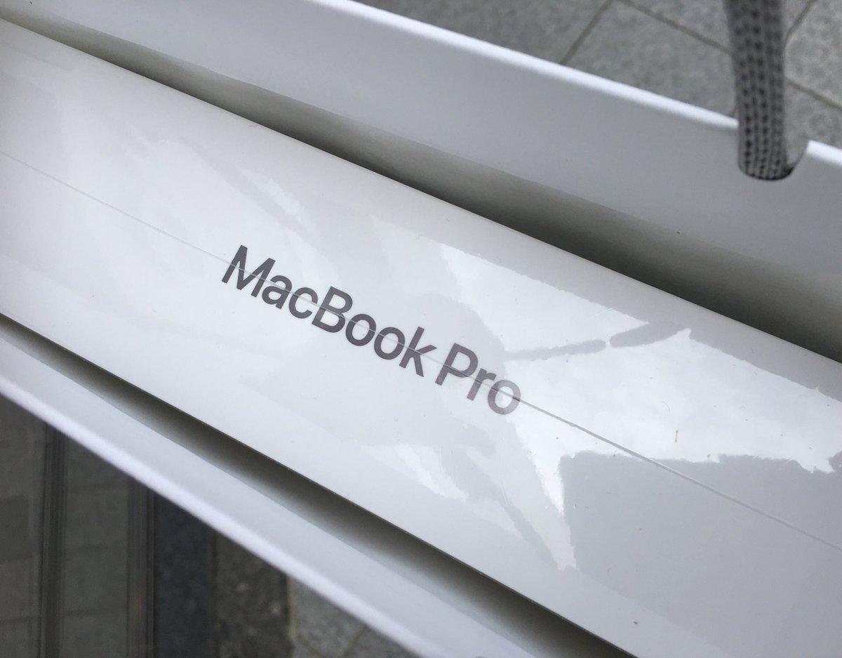 ワクチン接種から1時間後、MacBook Proを買ってしまう