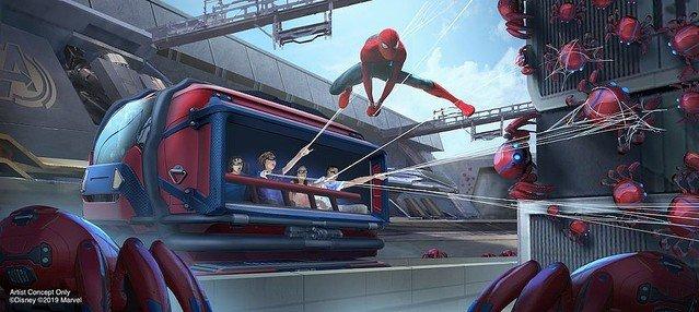 【期待】ディズニーが「アベンジャーズ・キャンパス」発表   各国のディズニーパークにアベンジャーズやスパイダーマンなど、マーベルをテーマとしたエリアをオープンすると発表しました
