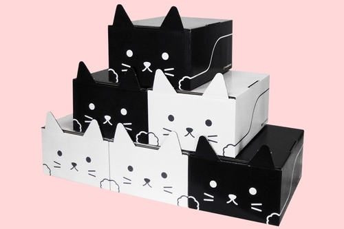【にゃん】ヤマト、梱包資材「ネコ耳BOX」の全国販売を開始