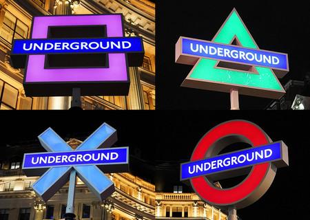 【衣替え】ロンドンの駅、地下鉄マークがプレステ模様に   英国でのPS5発売に合わせた取り組み