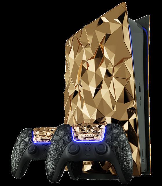 【限定1台】ロシア企業、約20kgの18金を使った「ゴールデンロック」PS5を発売   価格は明かされず、希望者だけに連絡される仕組み
