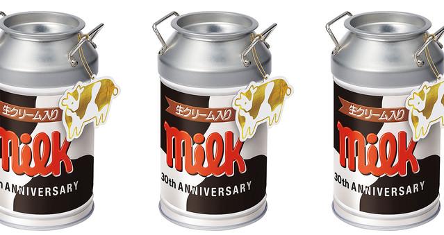 【30周年記念】「チロルチョコ〈ミルク〉」の「ミルク缶」が12日より登場