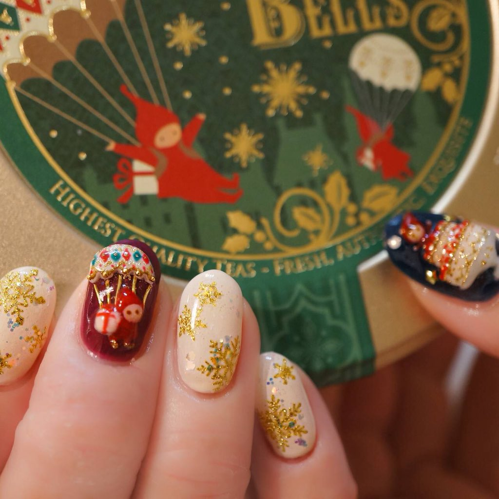 ルピシアの今年のクリスマスが可愛いからそれらしき物を、と注文したら想像以上の本気で来た