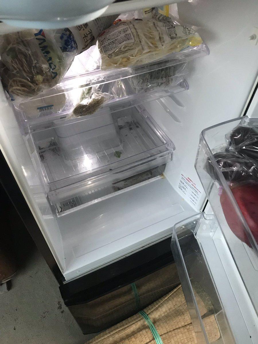 外にある冷蔵庫開けてみたら、、、 親父ぃぃぃぃぃぃぃぃ