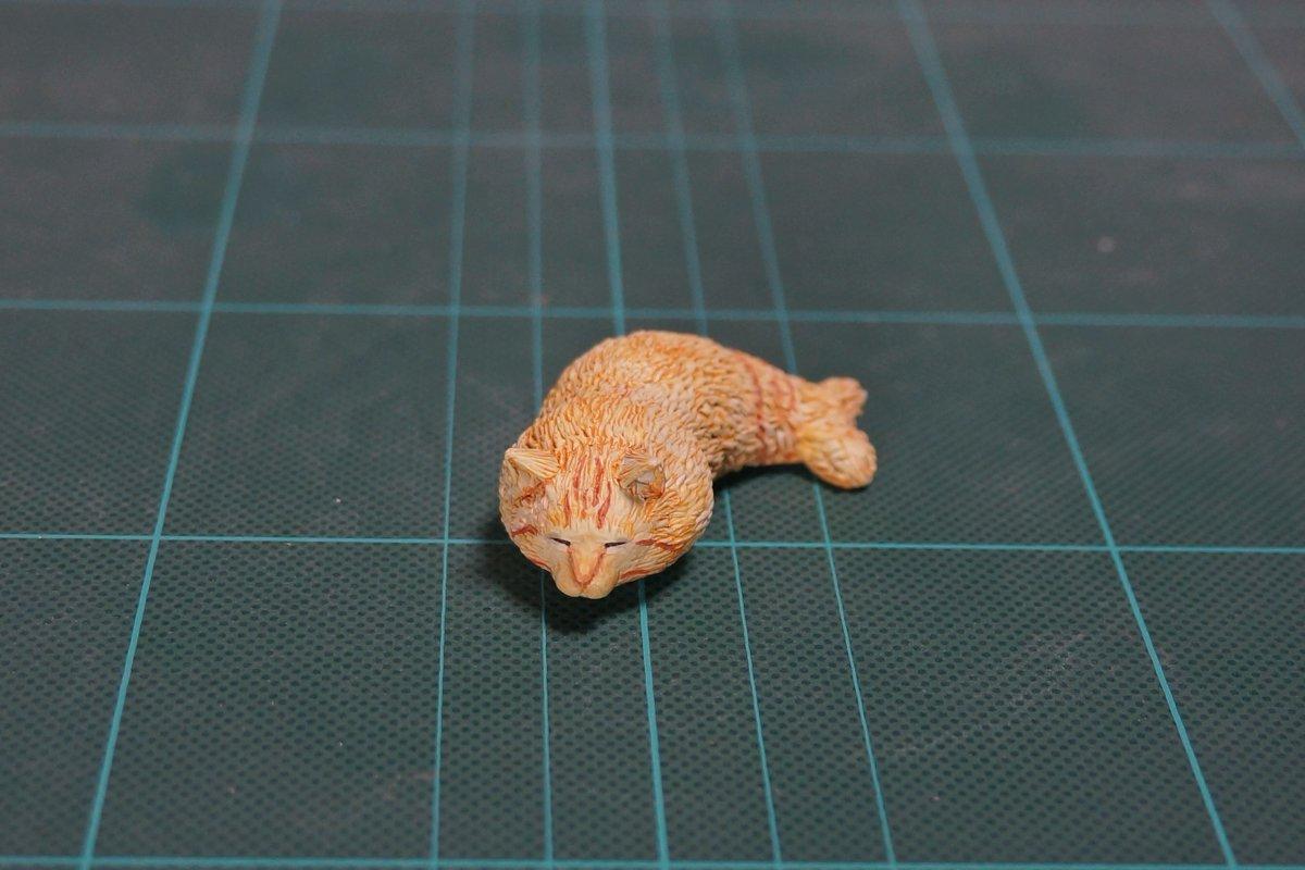 トラ猫は時々エビフライになることがあります