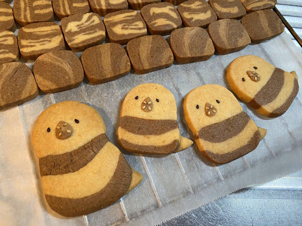 クッキーを作ったつもりが、母に「あら可愛いインコね