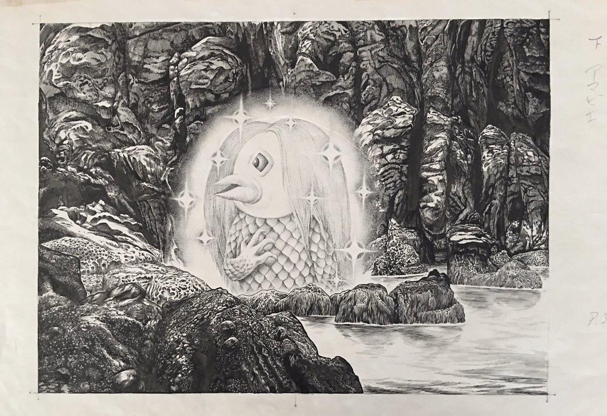 江戸時代、熊本の海に現れ「疫病が流行ったら私の写し絵を早々に人々に見せよ」と言って海中に姿を消した妖怪、というより神に近い…もの