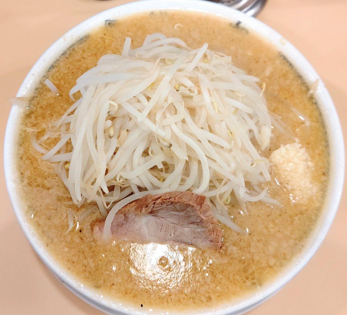 『らーめん 大【ダイ】』高円寺店  🔲 味噌らーめん ・麺半分 ・麺かため ・野菜多め ・ニンニク入り ・生姜抜き  麺を半分に出来るの嬉しい