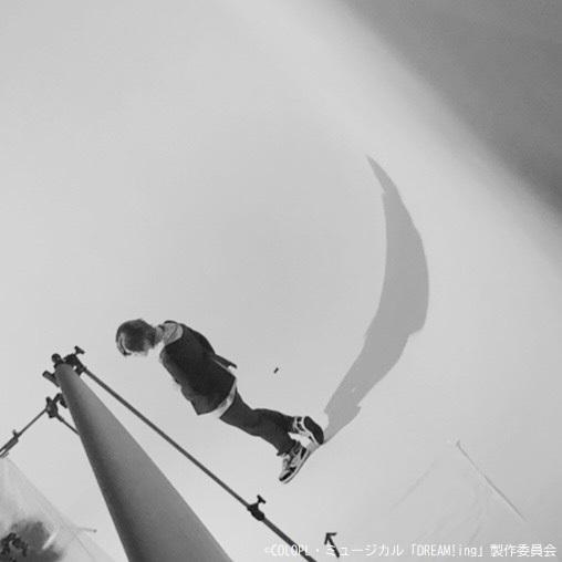 おはようございます!! 本日、ミュージカル「DREAM!ing」ビジュアル撮影スタートです☆ トップバッターは獅子丸孝臣役・長江崚行さん