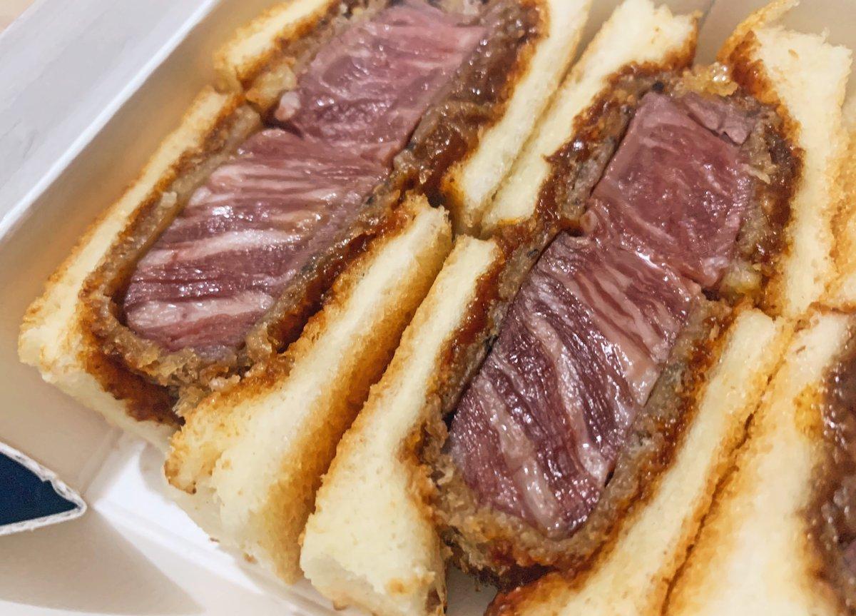 【北新地サンド】 @大阪:北新地駅から徒歩3分  特撰国産牛ヘレカツサンドを食べられるお店