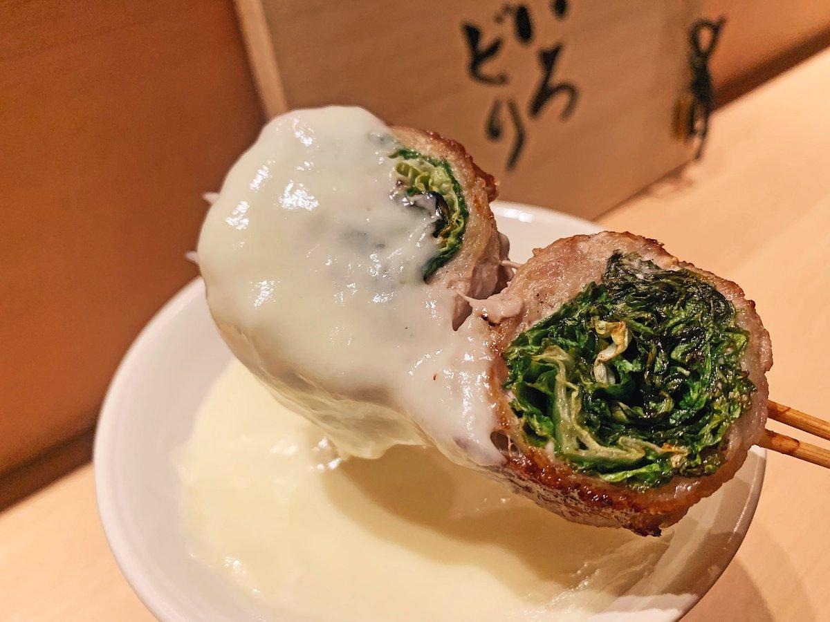 【いろどり】 @東京:池袋駅から徒歩6分  野菜肉巻き串&焼き鳥を食べられるお店