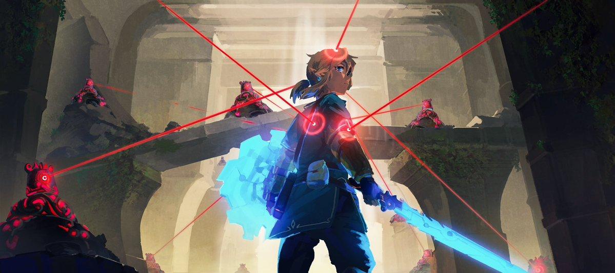 忘れ去られた神殿 #Zelda  #botw
