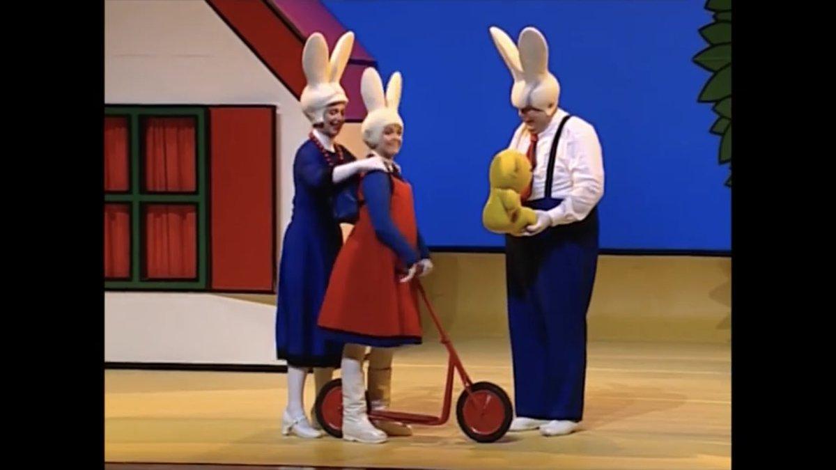 ミッフィー 、本国オランダで2.5次元ミュージカルになっていた