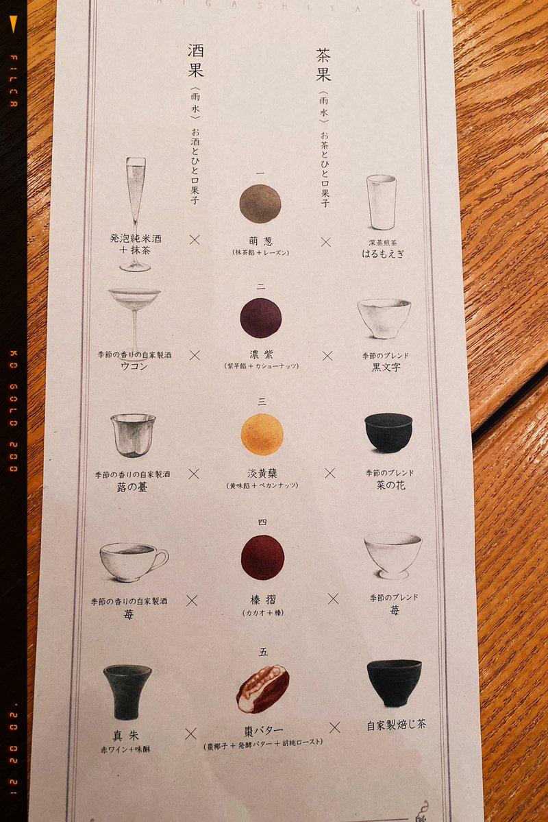 日本酒のアフタヌーンティーにきました