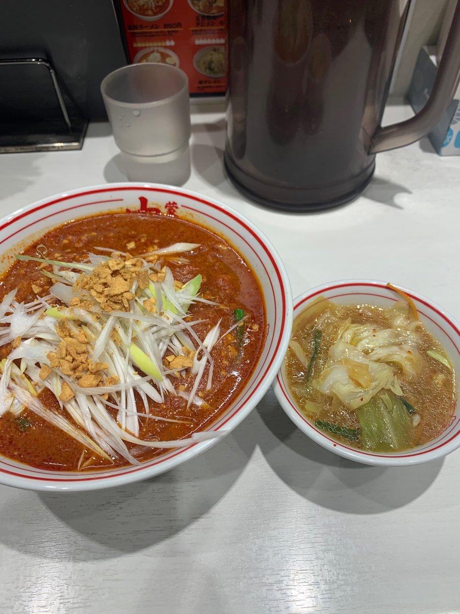川崎@MUSASHI+野菜スープ 数日前に食った一杯