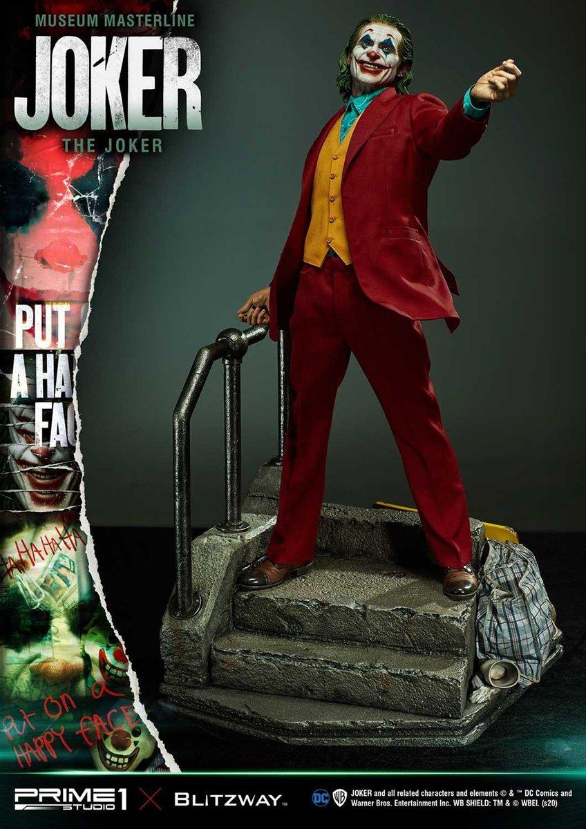 ホアキン・フェニックス=ジョーカーの精緻すぎるスタチュー(立像)が発売へ