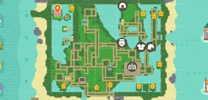 ポケモン ダイヤモンド パールのシンオウ地方マップがあつ森で再現される #ポケモン