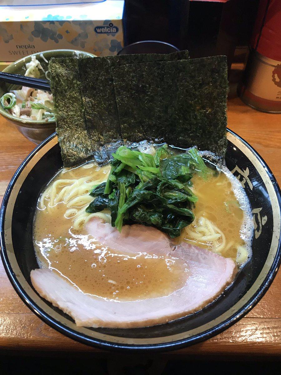 @akiyukis 家系ラーメン美味すぎて風邪治ったなり