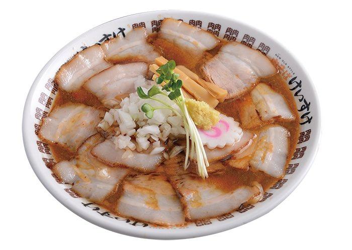 東京ラーメンショー2015出店  プレミアム 黒豚肉そば 札幌味噌スタイル  丼を埋め尽す黒豚バラチャーシューは圧巻のボリューム