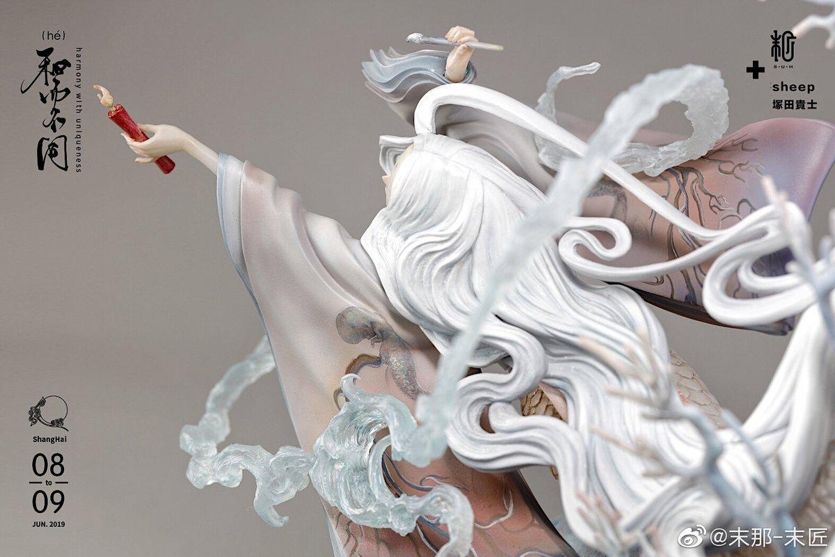 末那-「赤い蝋燭と人魚」原画:sheep 原型:塚田貴士@tsukachuma 塗裝:珍妮