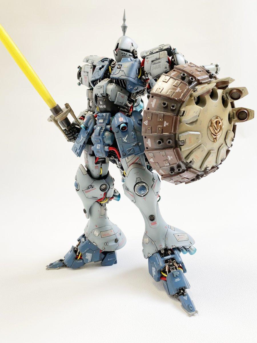 MG 1/100 YMS-15 GYAN feat.TOSAHIN  とさしん
