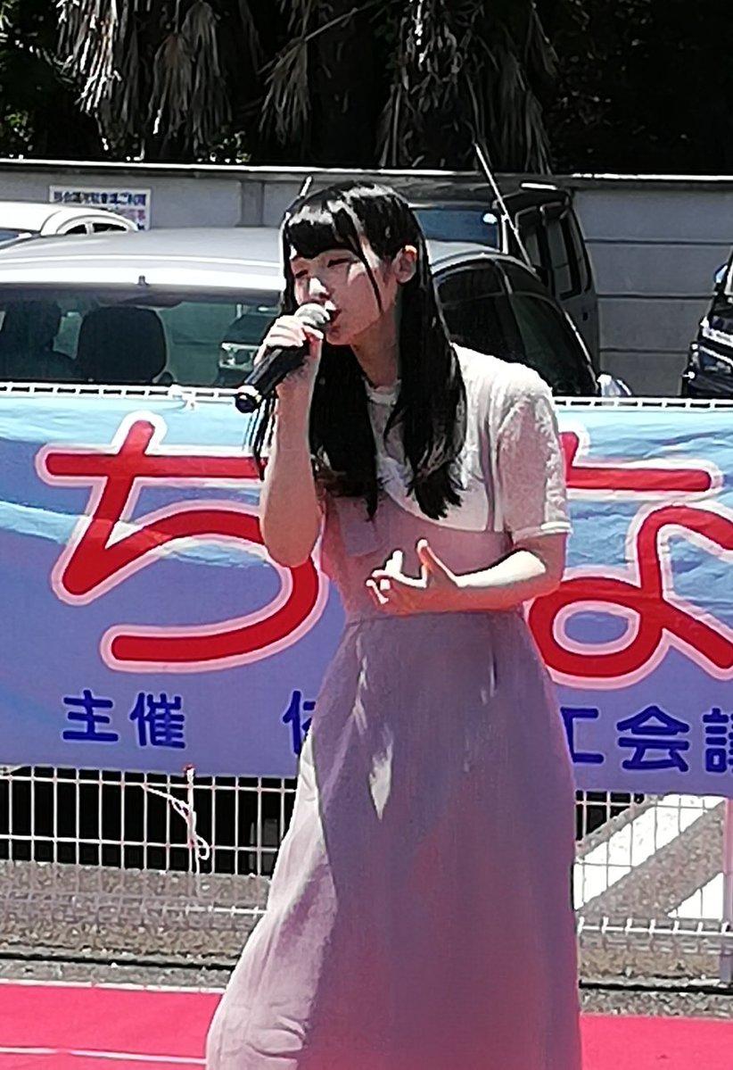 #2019年を振り返る まちなか楽市 のステージの #川音希 さん 佐野ラーメン さのまる