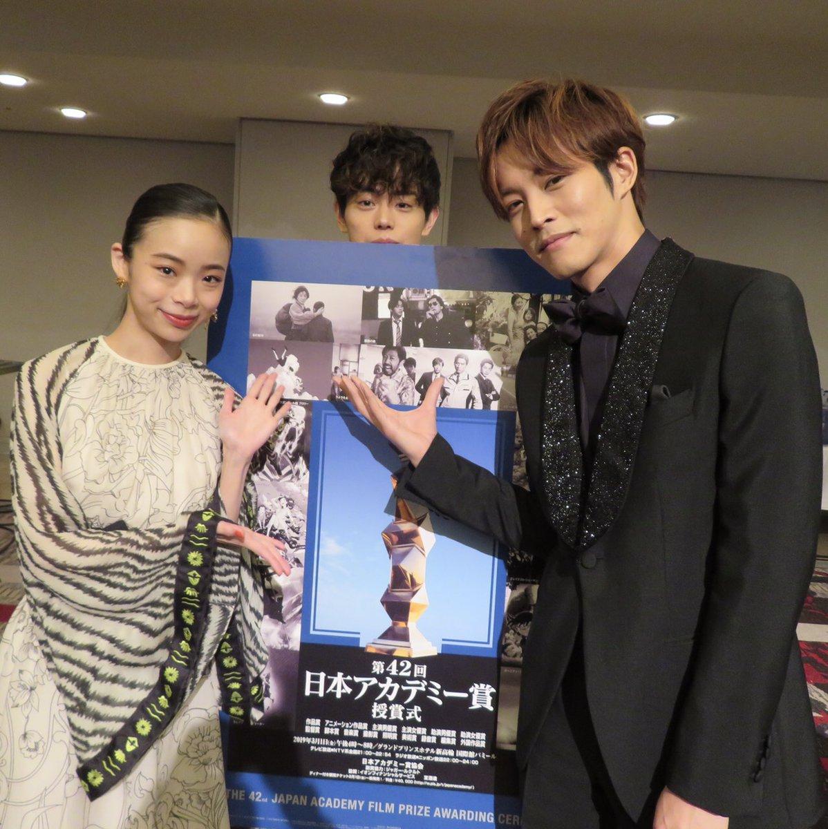 受賞した皆様おめでとうございます!!! #松坂桃李 #趣里