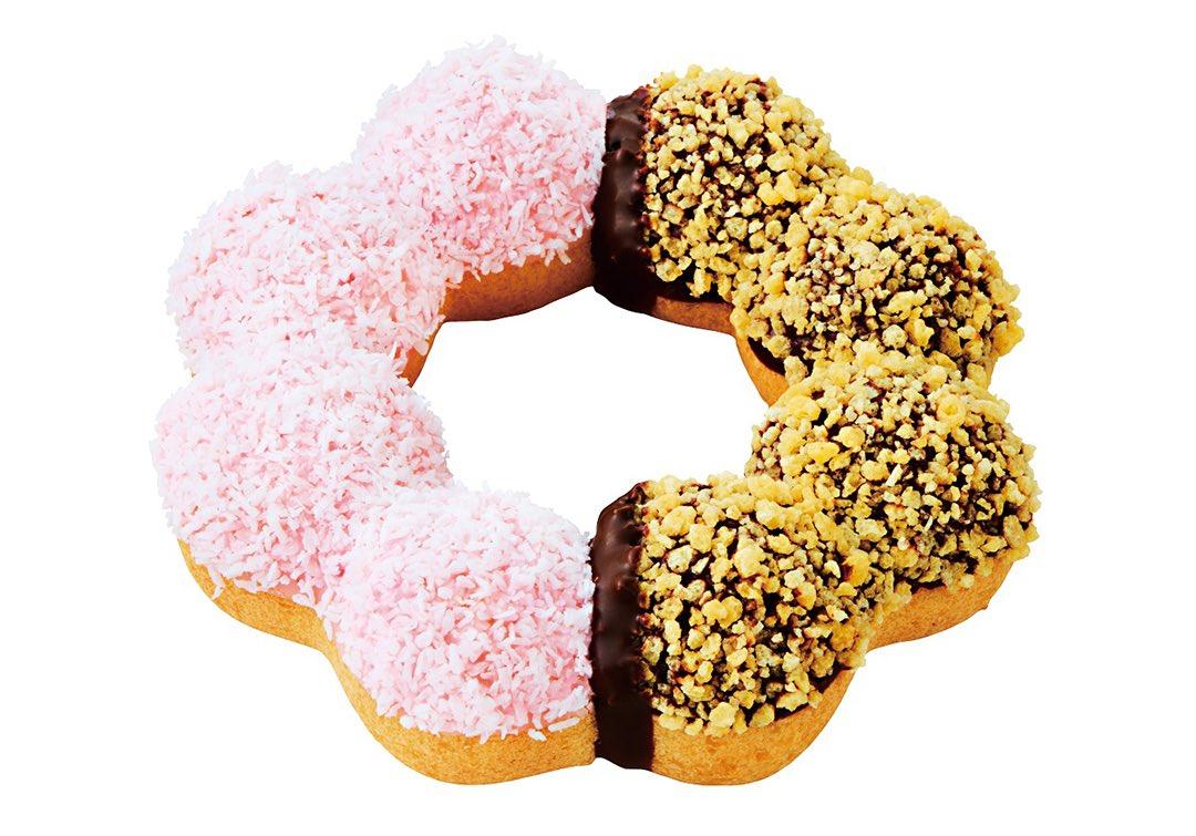 2月21日より期間限定でミスタードーナツから、『ポン・デ・リングバラエティ』3種が新発売されます✨