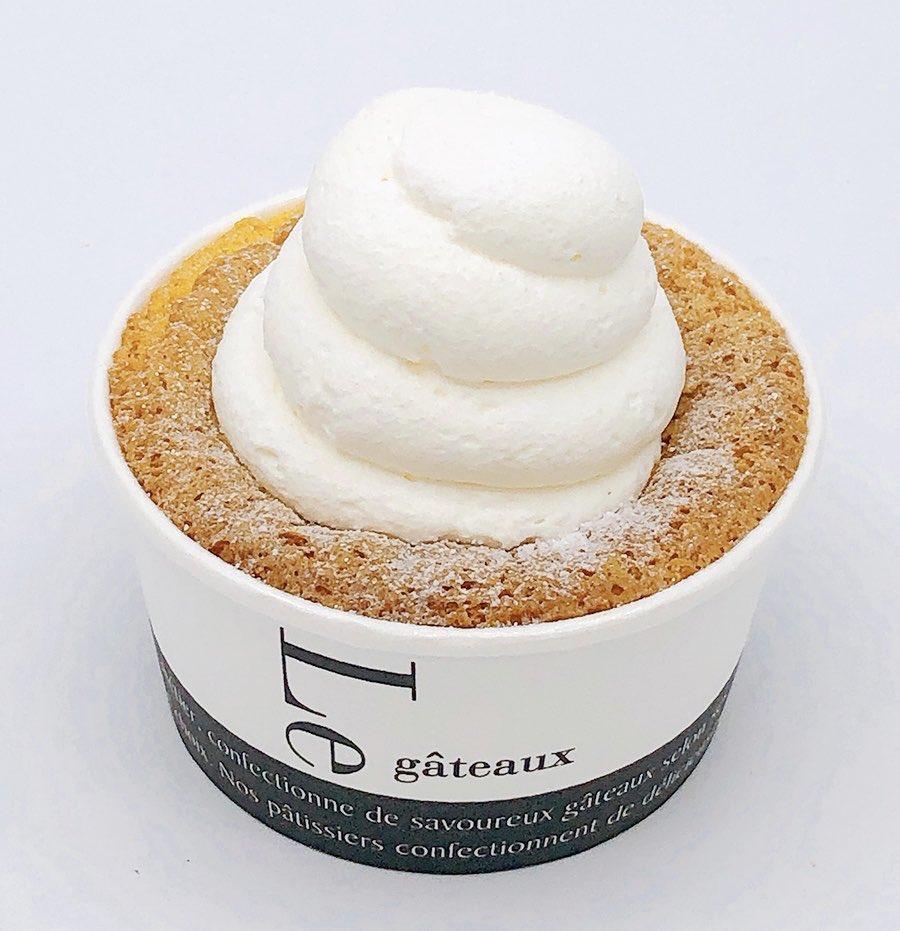 4月21日より順次セブンイレブンから、ふんわりとした食感のシフォンケーキに、ホイップクリームを合わせた新しいスイーツ『ふんわりクリームシフォン』が新発売されます✨