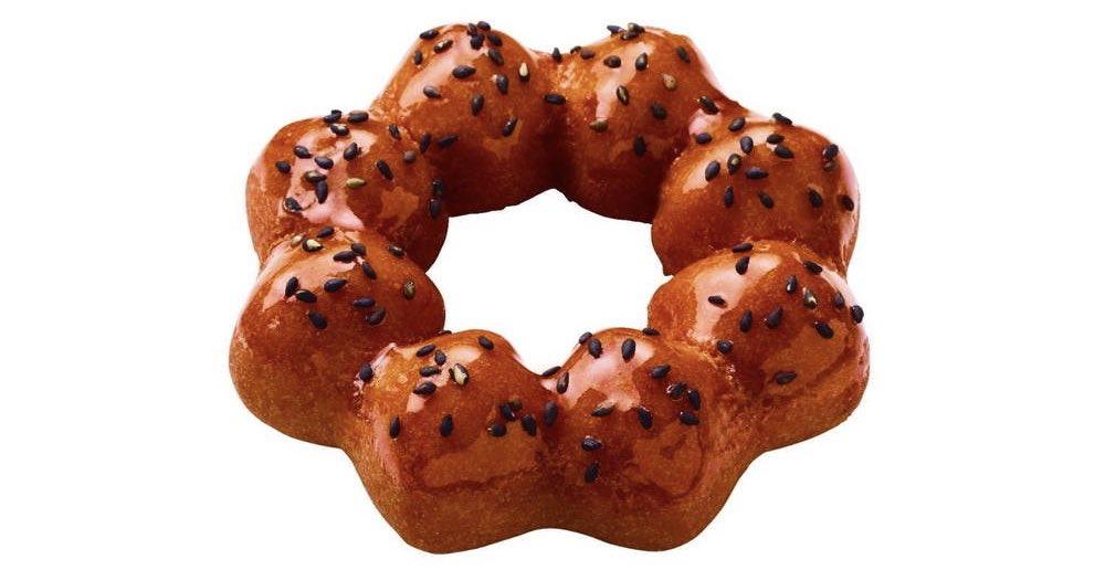 9月4日より期間限定でミスタードーナツから、さつまいもを使ったドーナツ「さつまいもド」5種が発売されます✨  昨年より「さつまいもド」がアップし、「いもけんぴ」が新たに加わります
