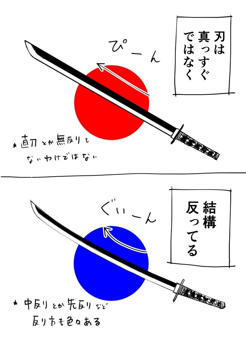 日本刀についての超初歩的知識3選