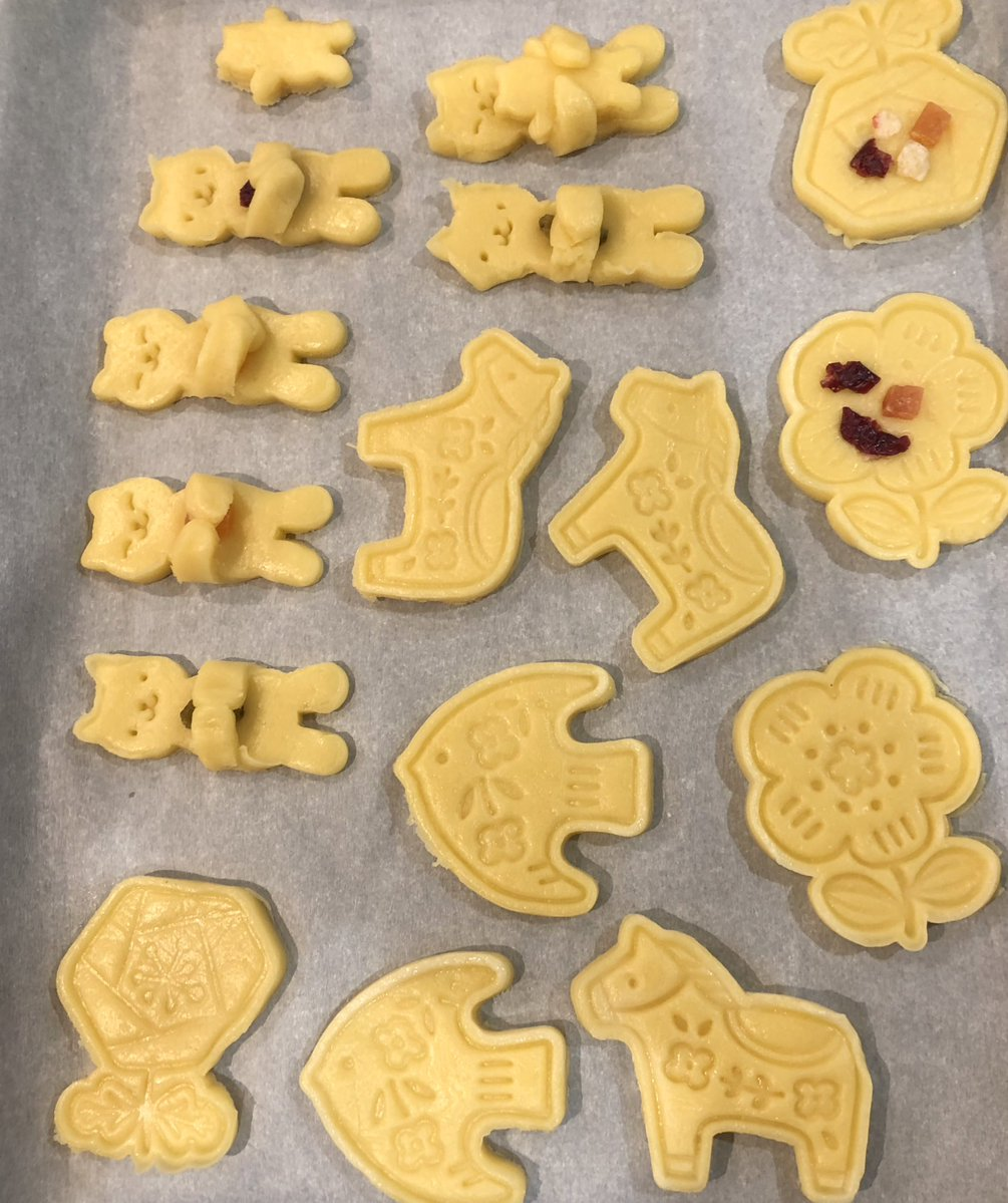 これは3歳児が大喜びの正常なクッキー