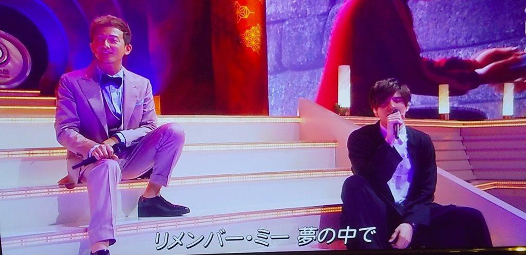 城田優さん… 今日歌う曲なんかスゴいな…  キセキ歌ってリメンバーミー歌うって… 偶然とは思えない #音楽の日