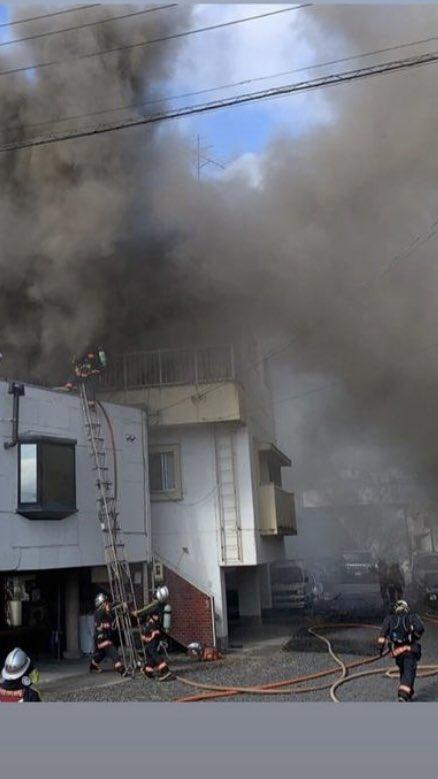 隣の家に放火されて工場水かけられて工場と事務所全損