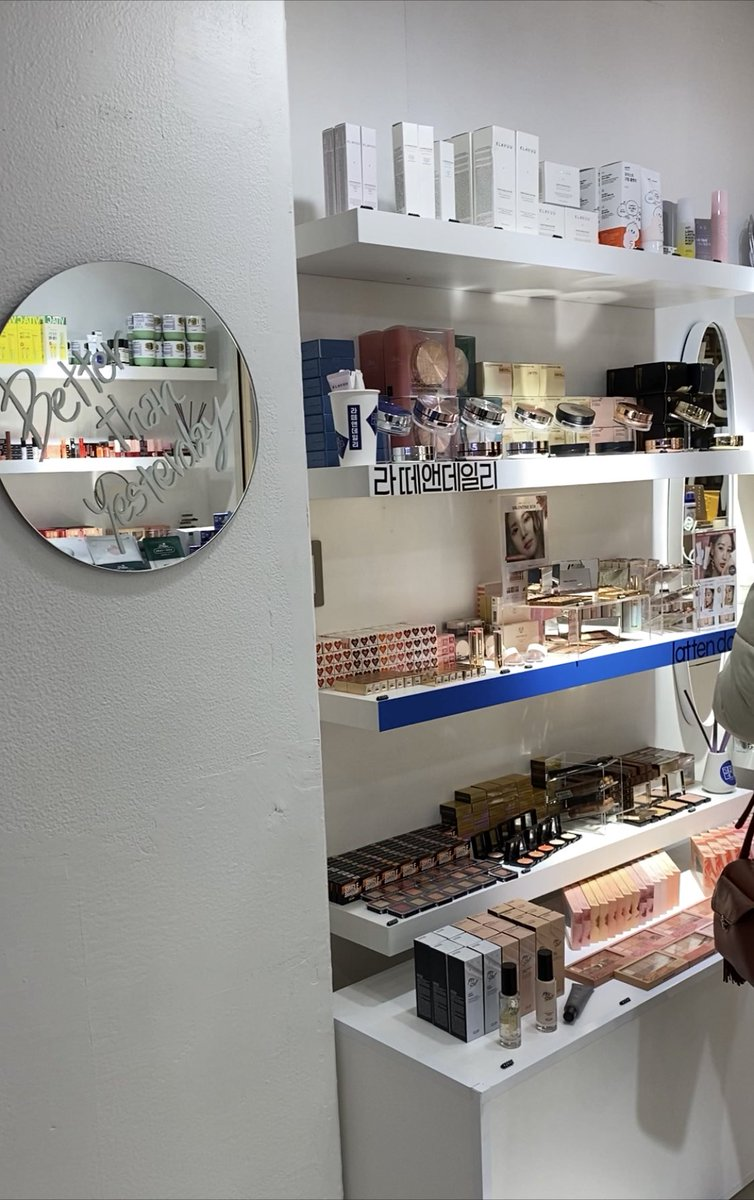 新大久保にあるコスメ&カフェのお店『ラテアンドコス』