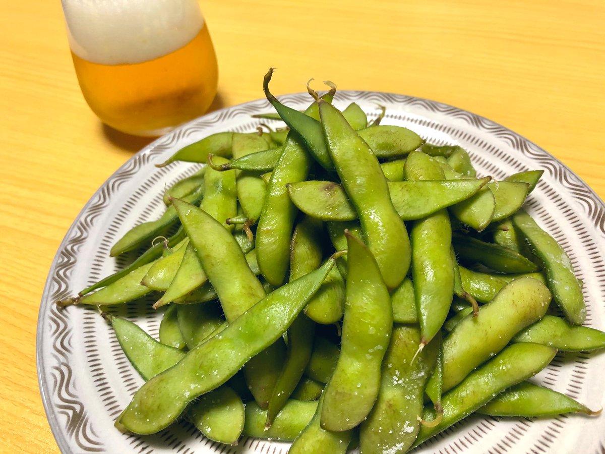 枝豆好き各位、枝豆は茹でるのもよいですが蒸し焼きも試してみませんか