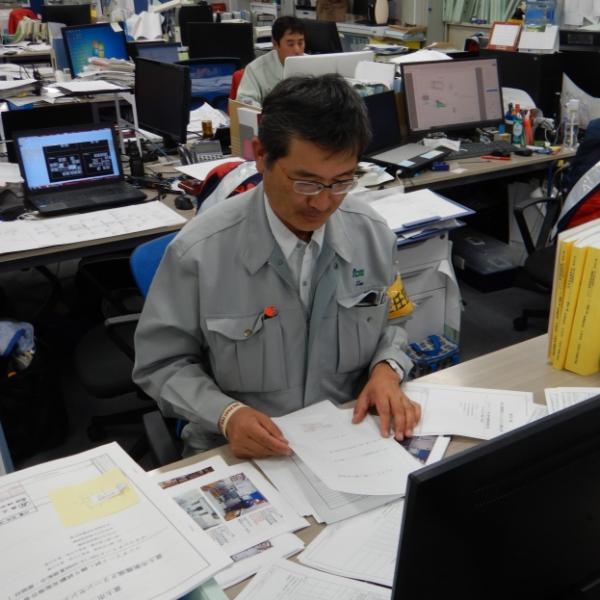 建築部/次長/田尾 豪洋(たお たけひろ)