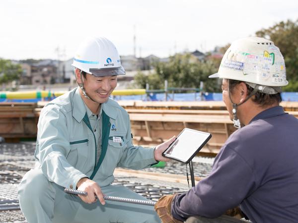 Q.施工管理の良さはどういう部分にありますか?