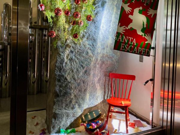 印象に残っているのは、クリスマスウィンドウのデザイン案が採用されたこと。