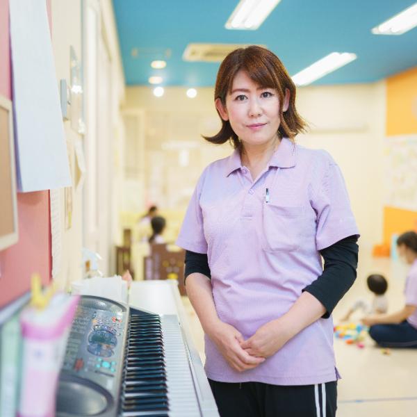 企業主導型保育所きゅうほうじ保育園 施設長/木村 美砂