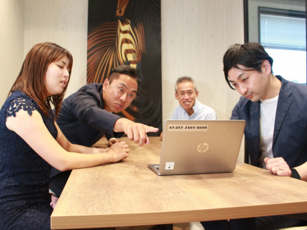 熱い議論と、速い決断。そして、スタッフ全員で同じ達成感を味わえるオープンな環境があります。