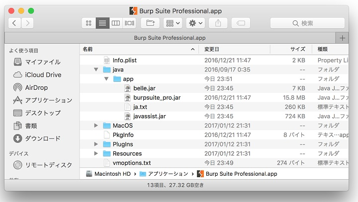 Burp Suite Mac app