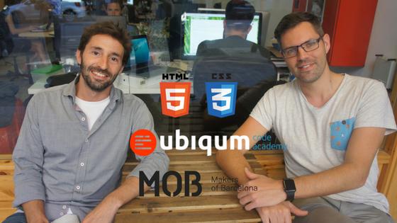 Taller HTML5 y CSS3: Aprende a crear tu página web en 2 horas by Ubiqum