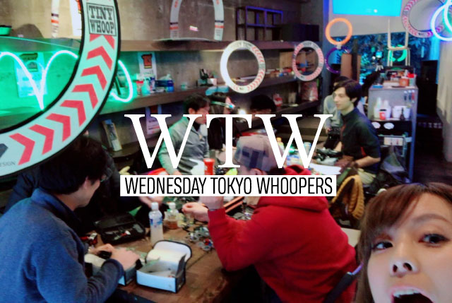 WEDNESDAY TOKYO WHOOPERS in FabCafe