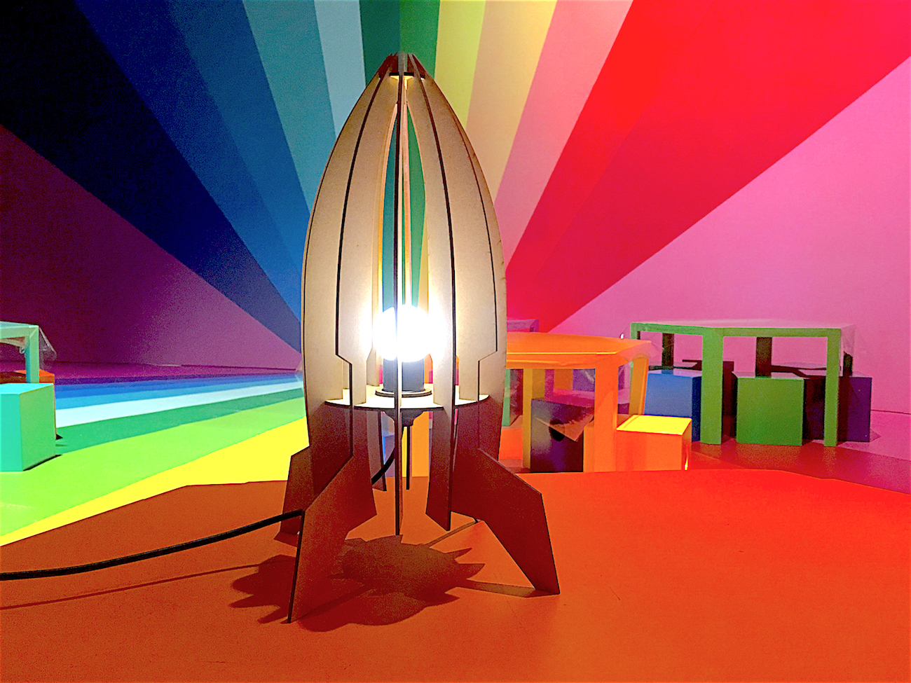 Make Your Own: Space Rocket Lamp (14 Jan)